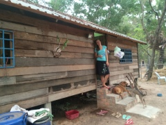 Our house at Wat Preah Yesu